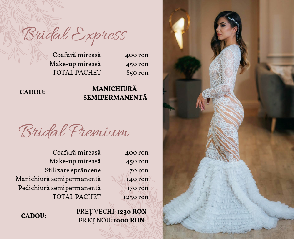 ofertele Bridal Beauty